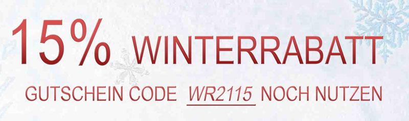 15% Winter Rabatt