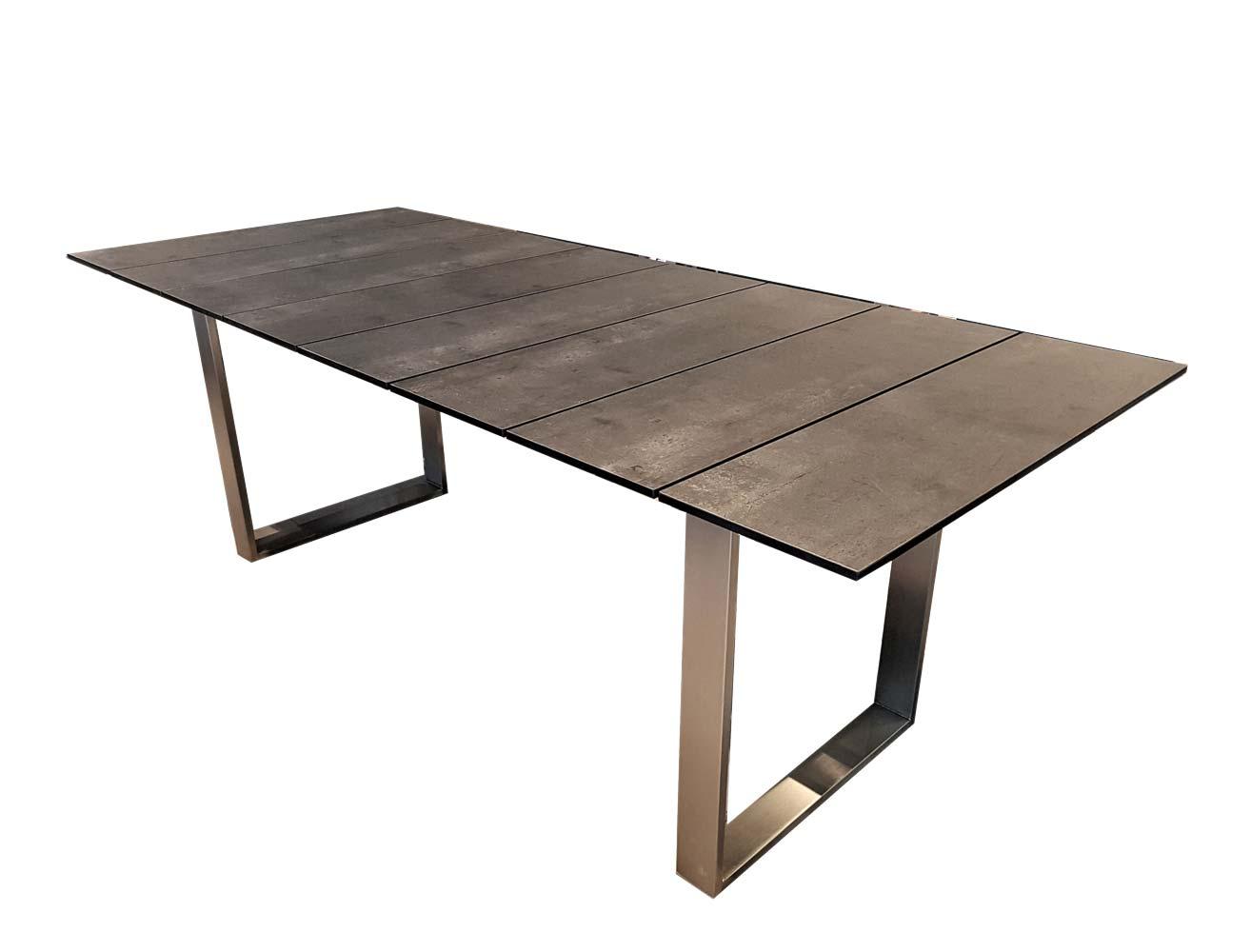 Kufentisch Star mit HPL  Tischplatte